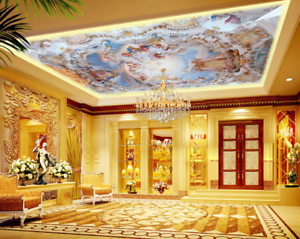 3D Palace Character 89 Wall Paper Wall Print Decal Wall Deco AJ WALLPAPER Summer