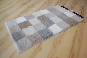 Details zu Badteppich Kleine Wolke Caro 287 Kaschmir 60x105 cm grau beige
