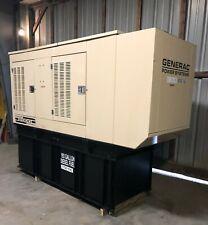 Generac 50 Kw Diesel Generator Set With634 Hours 193 Gal Tank Enclosure