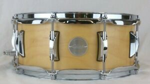 Click-Drums-Custom-6x14-10ply-Maple-Snare-Drum-Natural-Satin-Oil-Finish