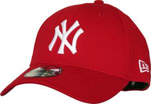 eb2babd8d46 NY Yankees New Era 3930 League Basic Scarlet Stretch Fit Baseball ...