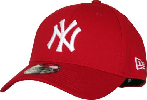 NY Yankees New Era 3930 League Basic Scarlet Stretch Fit Baseball