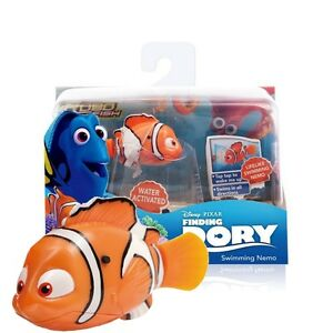 Disney finding dory robot robo fish water activated toy for Robot fish toy