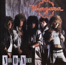 NIAGARA - NOW OR NEVER - CD NUEVO - HARD ROCK METAL BELLA BESTIA TRITON