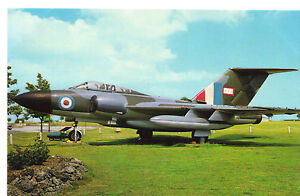 R-A-F-Javelin-Jet-Plane-Postcard-UK-Military-Unposted
