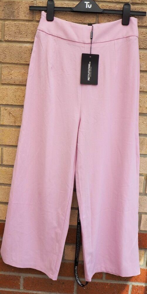 Expressif Prettylittlething Tazmin Lilas Culotte Rose Formelle Parti Pantalon Pantalon 8 S-ing Tazmin Lilac Culotte Pink Formal Party Trousers Pants 8 S Fr-fr Ventes Pas ChèRes 50%