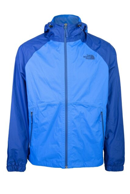 MEN'S NORTH FACE Stormy Trail Rain Jacket Size Medium Navy