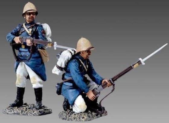 Thomas Gunn Französische Fremden Legion FFL018C Stehend & Kniend Mark Hut MIB