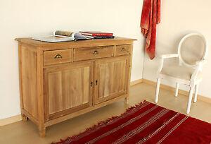 Mobile Buffet UNICO Credenza legno massello VERO TEAK NATURALE ...