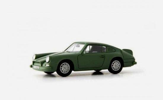 Wonderful modelcar PORSCHE 901 PROTOTYPE  FLEDERMAUS  BAT  1964 - 1/43 - ltd.333