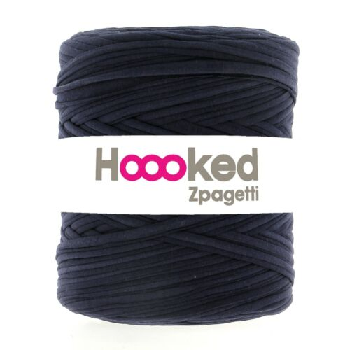 Hoooked /'Zpagetti stoffgarn Bleu Argile//Indigo Night/' Nouveau fasses du crochet tricot