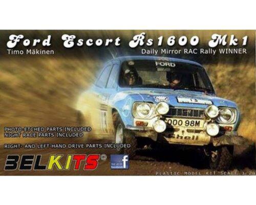 BELKITS FORD ESCORT 1600 RS MK I 1//24 COD.BEL006