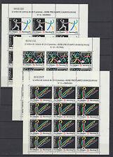 España Barcelona'92 Minipliegos 32/34 MNH