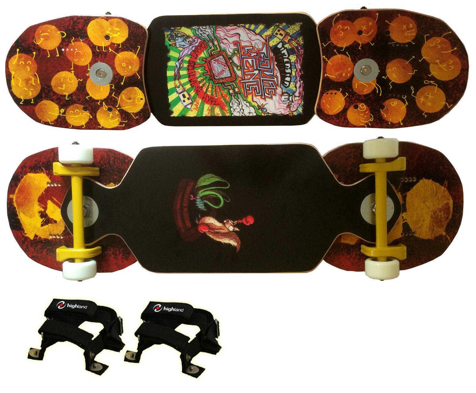 Ositos Custom Streetboard Coconuts, Dimension Thomas Kienle 55, Softcore Bindung