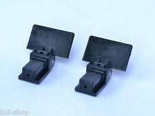 Lid Hinges for Audio Technica Turntables Pair of hinges fits Reloop Stanton etc