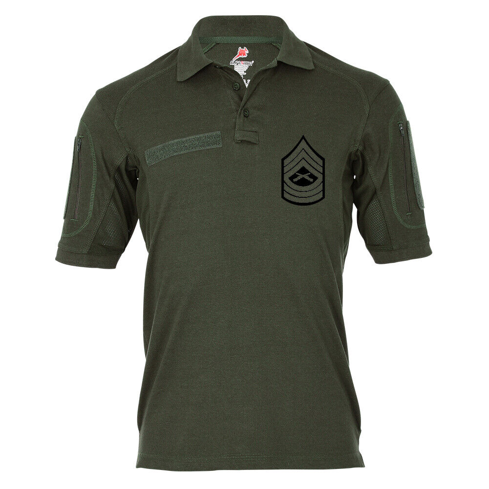 Tactical Poloshirt Alfa Master Sergeant United States Marine Corps USA  19043