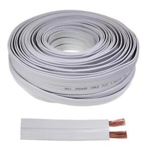 Loud-Speaker-Audio-Cable-FLAT-50m-2x2-5mm-CCA-2-2mm
