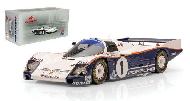 Spark 18lm86 Porsche 962c Le Mans Winner 1986-bell holbert stuck Escala 1 18