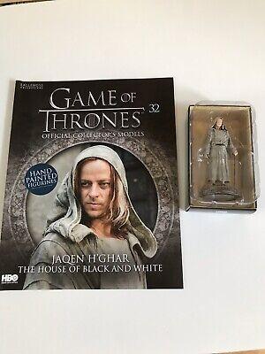 Spielzeug Action- & Spielfiguren Game Of Thrones Issue 32 Jaqen H'ghar Eaglemoss Figure Figurine Collector Model Klar Und GroßArtig In Der Art