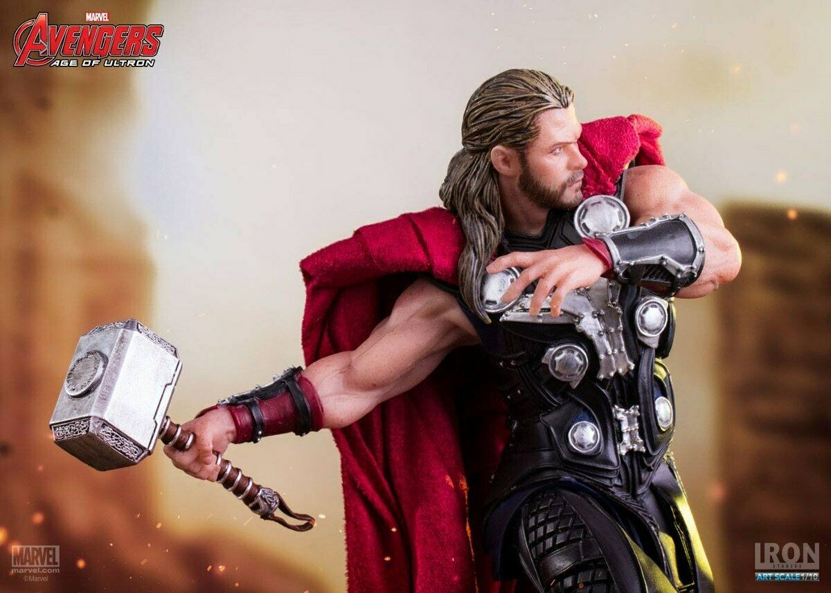 Iron Studios Marvel Thor Age of Ultron Art Scale 1/10 Statue on eBay thumbnail