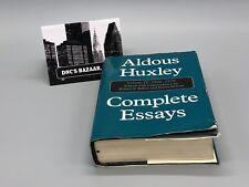 Complete Essays of Aldous Huxley: Complete Essays, 1926-1930 Vol. II by Aldous Huxley (2000, Hardcover)