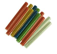 12 tlg. DKB Heißklebestäbe 11 x 100 mm Klebesticks bunt mit Glitzer Patronen