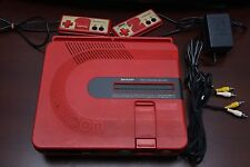 TWIN FAMICOM Sharp Console AN500R Japan system US seller