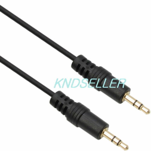 CORD HEADPHONE Speaker AUDIO 30cm 1ft 3.5mm STEREO Male to Male Cable
