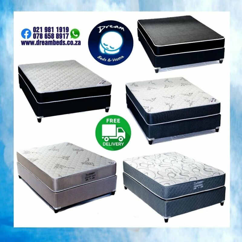 BEDS AT FACTORY PRICES and FREE DELIVERY