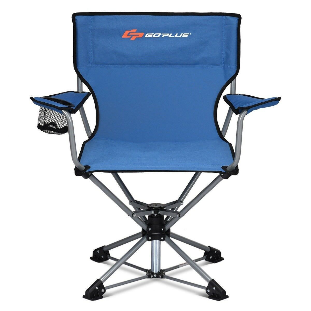 Swivel Outdoor Camping Chair Collapsible Folding Hiking Fishing 360° redation US