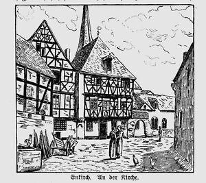 Mosel * Enkirch * in corrispondenza della chiesa * 1910 *