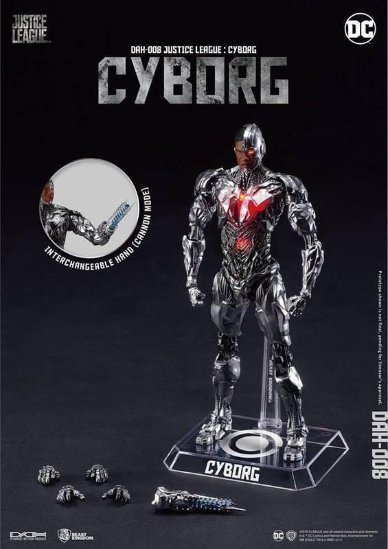 Bestia Reino Liga De La Justicia película dinámica 8 cción Cyborg 1 9 Figura De Acción