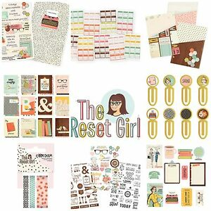 Simple-Stories-THE-RESET-GIRL-Planner-Insert-Dividers-Stickers-fits-A5-Filofax