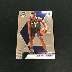 2019-20 Mosaic ZION WILLIAMSON RC #209 New Orleans Pelicans *NV21B