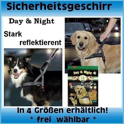 Begeistert Karlie Art-sportiv, Hunde-geschirr Day & Night: (reflektierend)