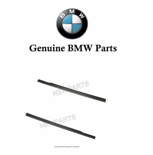 For BMW E46 325Ci 328Ci 330Ci Set of 2 L+R Lower Outer Weatherstrips Genuine