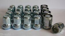 16 X M12X1.5 WOBBLE VARIABLE WHEEL NUTS & LOCKING TOYOTA PRIUS PICNIC RAV 4