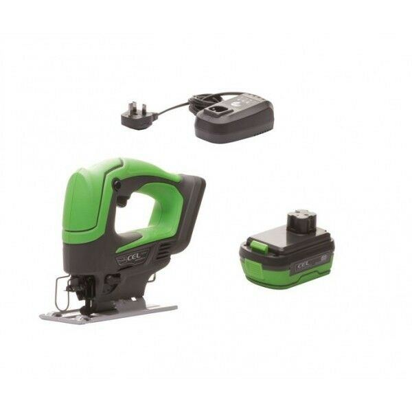 CEL 14.4V Jigsaw with battery and Fast Charger - 144JS-BP15
