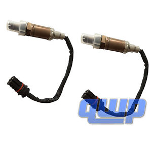 2PCS Pair Upstream Oxygen Sensor O2 234-4672 Front for BMW E46 E39 M54 E38 X5 Z3
