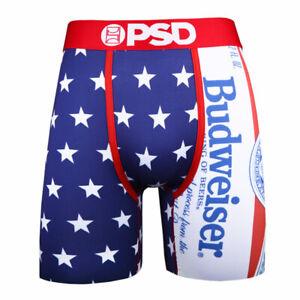 8abb86d32d142 Budweiser Stars USA American Flag Men's Boxer Briefs Blue | eBay