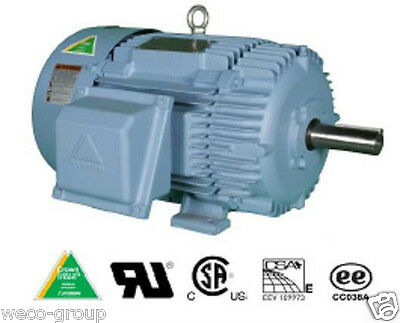 HHI7.5-18-213T 7.5 HP, 1800 RPM NEW HYUNDAI PREM EFFIC T FRAME ELECTRIC MOTOR