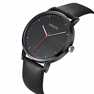 Watch-Songdu-Black-Quartz-Black-Leather-Strap-in-Box-XOOOKFFK0D