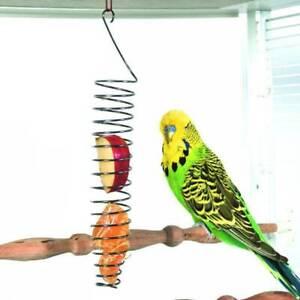 Bird-Parrot-Food-Fruit-Basket-Millet-Feeding-Holder-Cage-Hanging-Bird-Toy