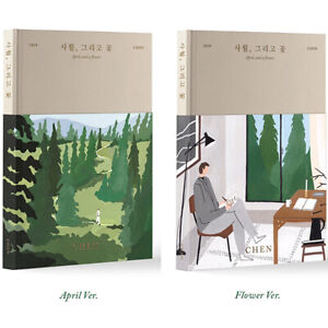 EXO-CHEN-APRIL-AND-A-FLOWER-1st-Mini-Album-APRIL-or-FLOWER-ver-CD-Booklet