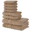 thumbnail 17 - Towel Set 8 Piece Set Bath Towel Hand Towel Washcloth Also in Lot Qute Towels