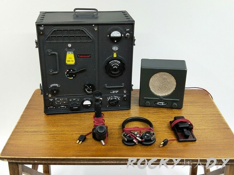Telegraph Transmitter for D80133 WWII German Communications 3 WH WH WH Radio Operator d86782