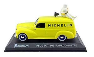 IXO-MICHELIN-Collection-1-43-Diecast-Peugeot-203-fourgonnet-van-Revista-No-34