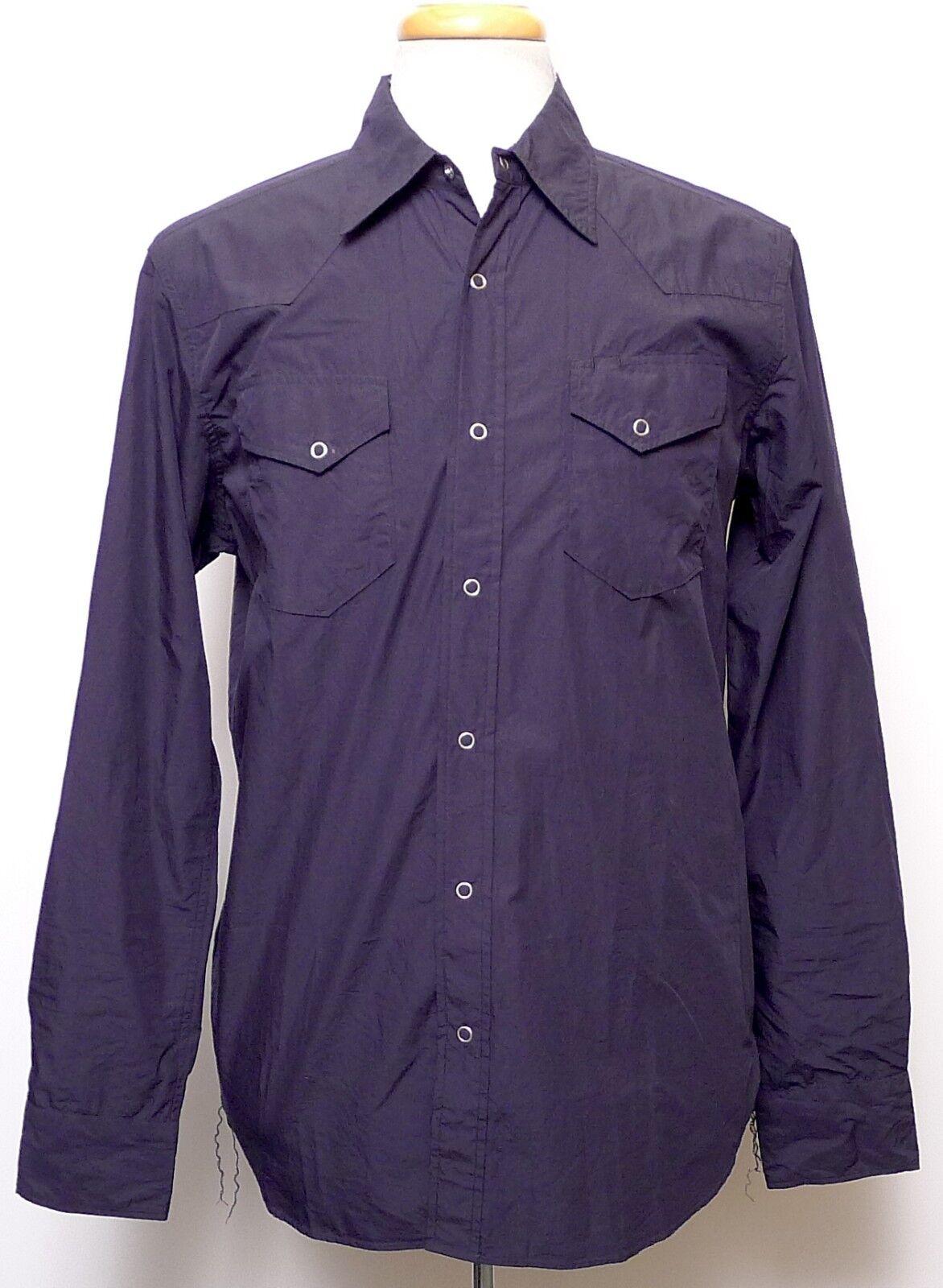 Shuttle Notes Men's Master Cloth bluee Alternative Style Shirt NWT