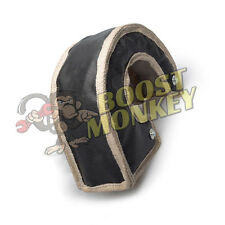 BLACK TURBO BLANKET HEAT SHIELD TURBOCHARGER COVER FOR T3 T25 T28 GT25 GT30 USA