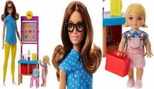 Brunette Barbie Teacher Doll
